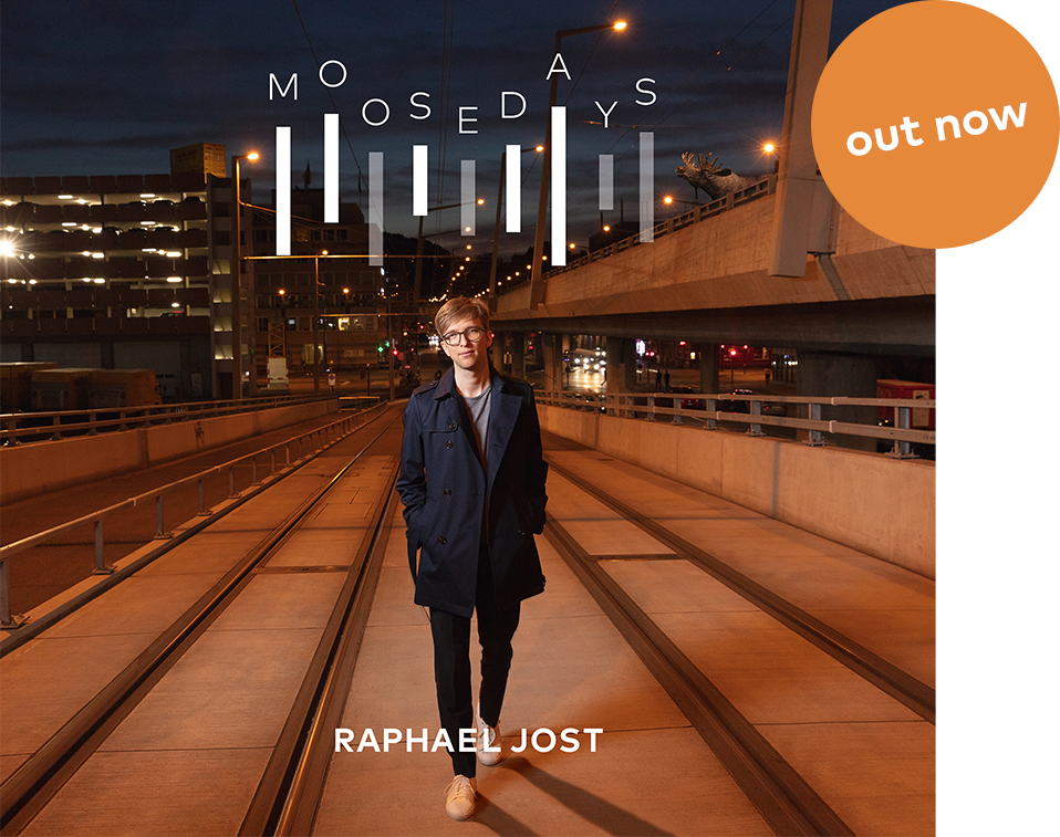 CD Cover MOOSEDAYS Raphael Jost