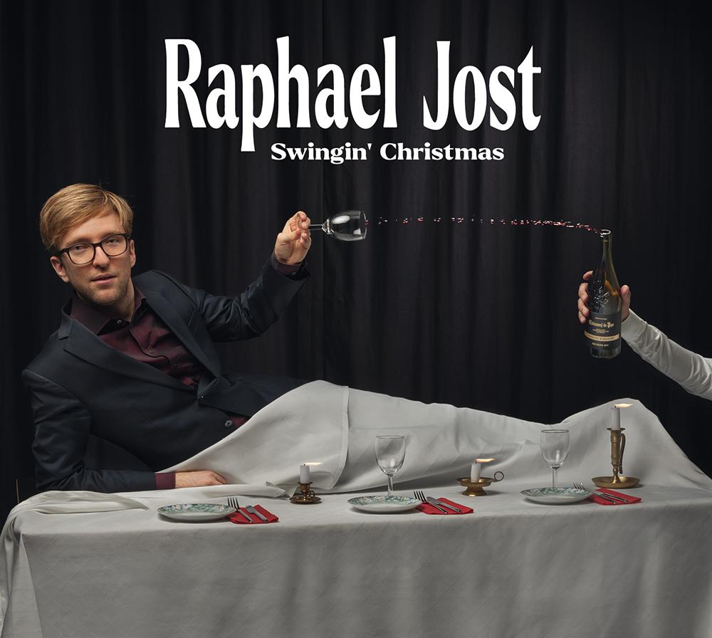 CD Cover Raphael Jost - Swingin' Christmas